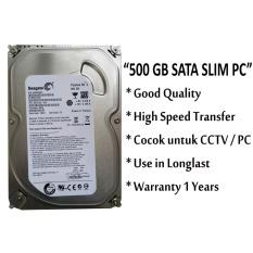 Seagate Harddisk Pc 500gb Sata Slim