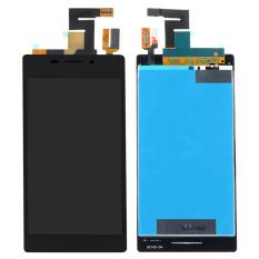 Sentuh Digitizer + LCD Layar Tampilan Untuk Sony Xperia M2 Aqua LTE D2403 (Hitam
