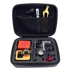 Shockproof WaterProof Portable Case Bag For GoPro Hero 3.3 2 Storage (Black)