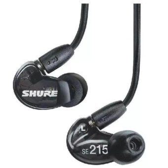 Shure SE215 Bluetooth Headphones Noise Cancelling Headphone Earbuds Headset Sport In-Ear Sweat proof Earphone - intl