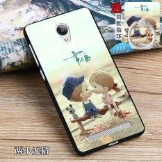 Silica Gel Soft Phone Case For Xiaomi Mi 5c With A Ring Multicolor Source · multicolor