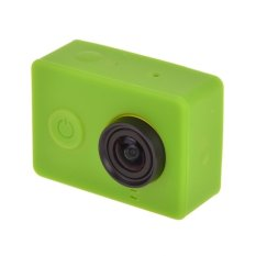 Silicone Gel Protective Case For Xiaomi Yi Sport Camera (Green)