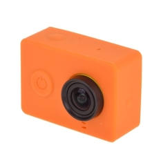 Silicone Gel Protective Case For Xiaomi Yi Sport Camera (Orange)