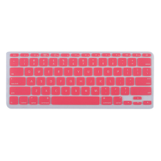 Silicone Soft Keyboard Cover Skin Protector For Apple Macbook Air 11.6inch Pink (Intl)