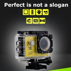 SJ8000 WiFi 16MP 2-Inch LCD 1080P 4K 30fps 170 Wide Angle Waterproof DV Camcorder Sport Action Camera - intl