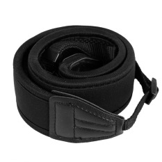 Skidproof Elastic Neoprene Neck Strap For Nikon DSLR D90 (Black) (Intl)