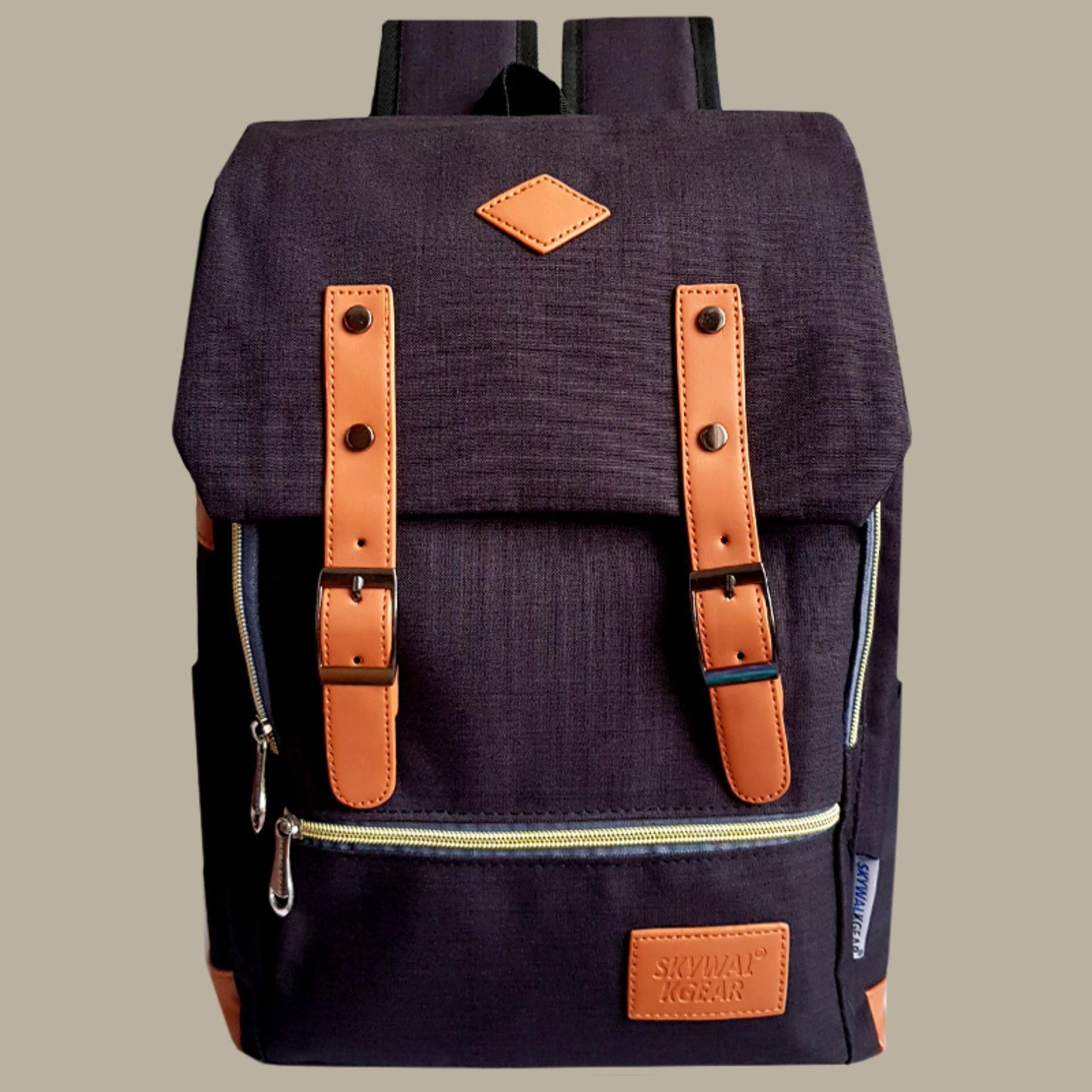 Garsel Tas Ransel Backpack Sekolah Kuliah Kerja 3 in 1 CantikMultifungsi FAT5214 - Hitam. Source
