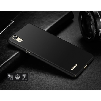 Slim Fit Shell Hard Full Protective Anti-Scratch Resistant Cover Case for OPPO F1/A35(Black) - intl