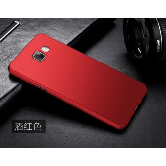 Slim Fit Shell Hard Full Protective Anti-Scratch Resistant CoverCase for Samsung Galaxy A3 2016(Red) - intl