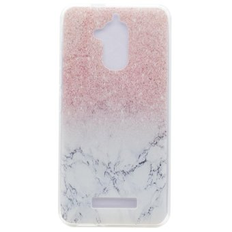 Slim Fit Transparent TPU Soft Back Case For Asus ZenFone 3 MaxZC520TL (Marble) - intl