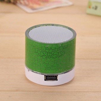 Jingle Vibrant Cracked Bluetooth Speakers New Mini Portable Car Source · Portable Wireless StereoMusic Player Support
