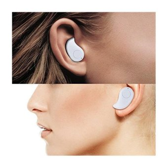 Smart Original Headset Mini Wireless Bluetooth S530A Stereo In-EarEarphone Headphone Headset For Smart Phone Android & iOS -Putih