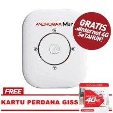 Smartfren Modem MiFi Mobile Andromax M3Y Free Perdana giss - Putih