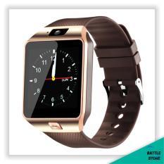 Smartwatch U9 / DZ09 / Smart Watch DZ09 Support Sim Card & Memory Card / Jam Tangan Android - Brown