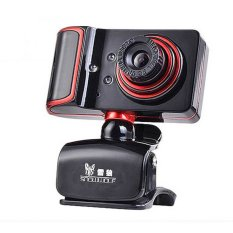 Snowwolf S21 USB Webcam 0.3MP with Microphone - Hitam