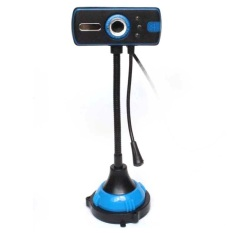 Snowwolf Webcam with Microphone and Night Vision G400 For Laptop - Komputer