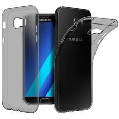 Soft Case For Samsung Galaxy A3 2017 Casing Cover - Abu-abu