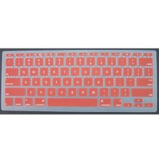 Soft Silicone Keyboard Skin Cover Protector Film For Apple MacBook Air 11.6 Inch Red