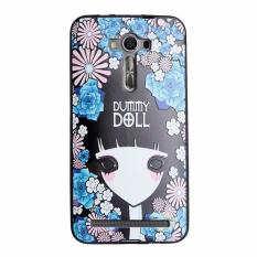 Soft TPU 3D Embossed Painting Cover Case For Asus Zenfone 2 Laser ZE550KL (Marionette)