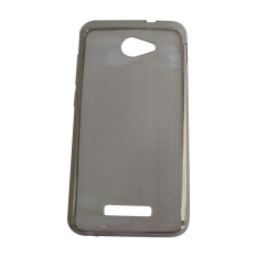 Softcase Ultrathin for Smartfren Andromax A - Hitam Clear
