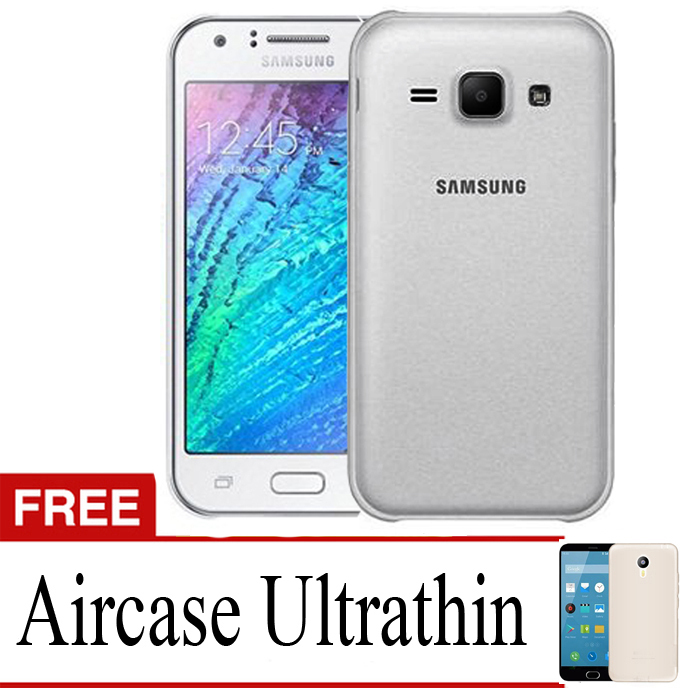 Softcase Ultrathin Soft for Samsung J3 - Abu-abu Clear + Gratis Ultrathin | Lazada