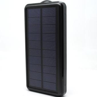 Solar Power Bank 20000mAh Waterproof - Black