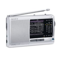 Sony ICF-SW11 World Band Radio - Silver