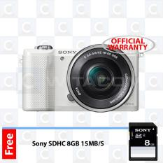 Sony ILCE-A5000L Kit 16-50mm f/3.5-5.6 OSS - White