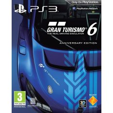 Sony Kaset Blue Ray PS3 Sony Playstation 3 Gran Turismo 6 Limited Edition