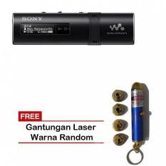 Sony NWZ-B183 B Series MP3 Walkman 4GB - Hitam + Gantungan Laser