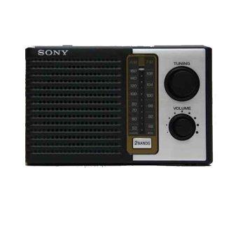 Sony Radio ICF-F10 - Hitam