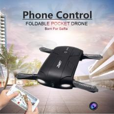 SP Hot Foldable Pocket Selfie Drone With Camera Wifi FPV RC Quadcopter Phone Control Helicopter Mini Dron JJRC H37 Elfie Copter