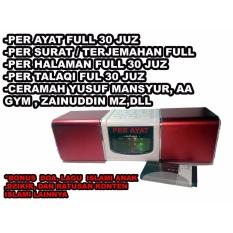 Speaker Audio Al Quran Murajaah hafal alquran mini baterai bl-5c bisa dilepas
