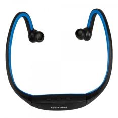 Sport TF Card Reader Media Headset MP3 Player (Blue)