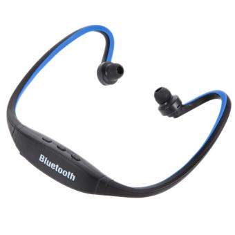 Olahraga Bebas Genggam Bluetooth Headset Stereo Nirkabel Telepon Kepala For Handphone PC