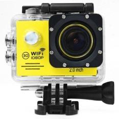 Sports Action Camera 2-inch LCD WiFi 4K HD Waterproof camera Sports Cam - intl