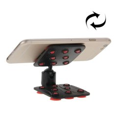 SUNSKY 360 Degree Rotatable Cup Holder / Desktop Stand For IPhone 6 And 6 Plus, IPhone 6S And 6S Plus, Samsung Galaxy S6 Edge + / S6 Edge / S6, HTC, Nokia, Sony (Red) - Intl