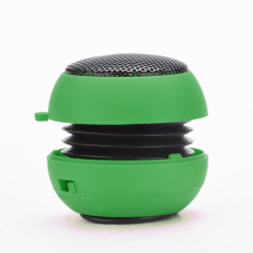Sunweb Portable USB Mp3 Speaker Stereo Mini Speaker Music MP3 Player Amplifier Loudspeaker (Green)