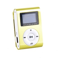 Supercart Mini Clip Mp3 Player Portable Digital Music Player with Screen (Green) (Intl)