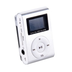 Supercart Mini Clip Mp3 Player Portable Digital Music Player with Screen (Intl)
