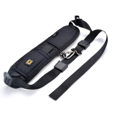 SuperCart Neck Shoulder Strap Camera Single Shoulder Sling Black Belt Strap (Black)