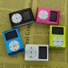 Support 32G TF Card Sport MP3 Player With LCD Screen / Metal Mini Clip Metal Multicolor Portable MP3 Music Player With Micro TF / SD Card Slot - Intl