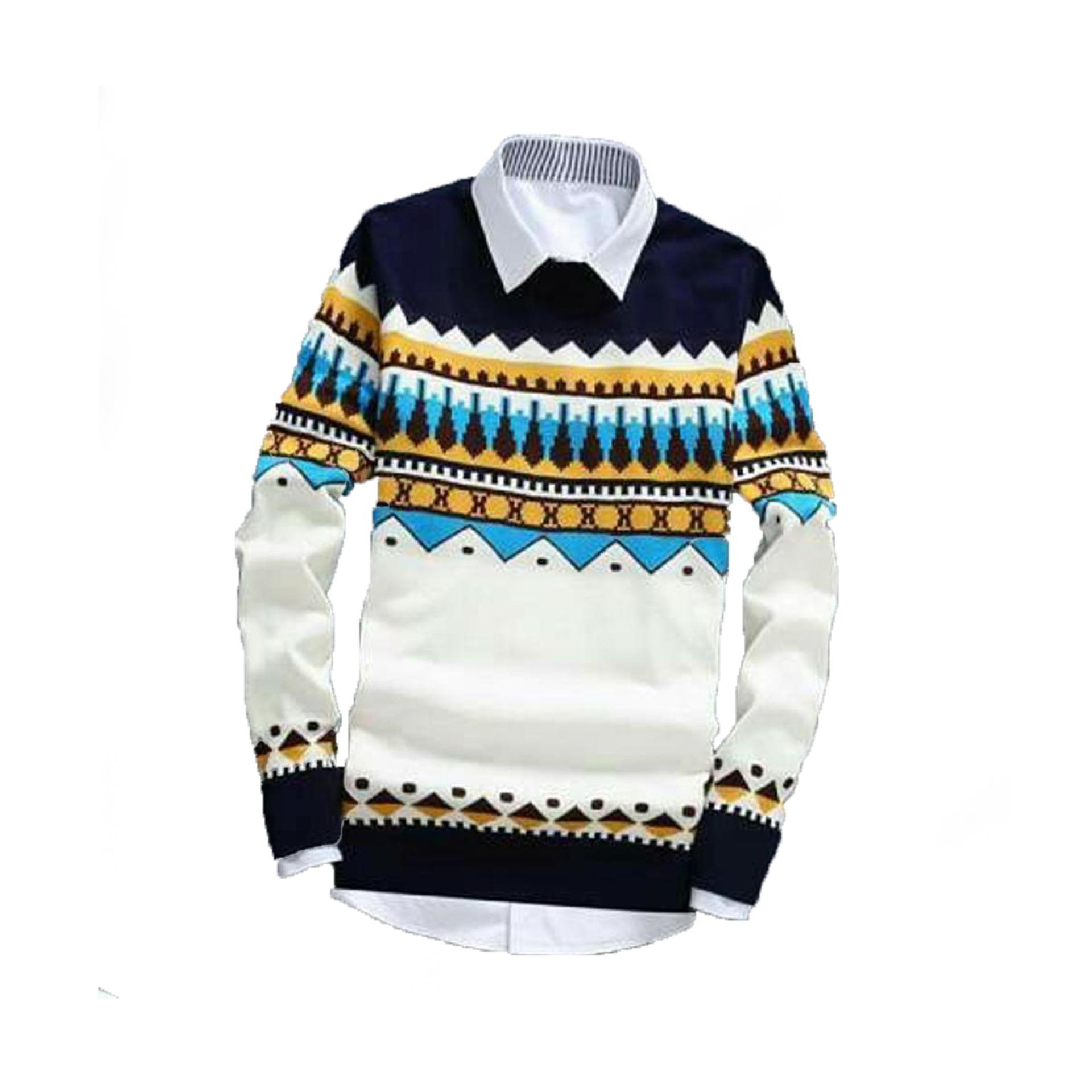 Kehebatan Sweater Rajut Pria Naza Grey Tebal Dan Harga Update Kafie Tribal