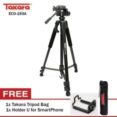 TAKARA ECO-193A + Holder U + Tripod Bag