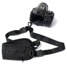 Tali pengikat leher bahu sabuk sling untuk Nikon Canon EOS kamera DSLR SLR