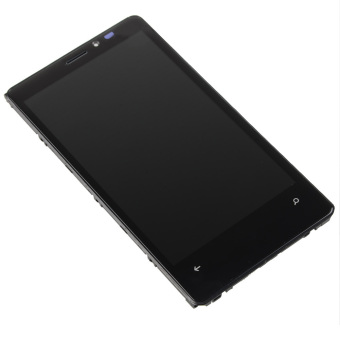 Touch Screen Glass Digitizer LCD Display Assembly Frame For Nokia Lumia 920 (Black)