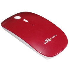 Teamtop Bestrunner 3.0 Bluetooth Wireless Slim Mouse Mice For Computer Tablet Laptop PC Red
