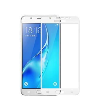 Tempered Glass Screen Protector / Anti Gores Kaca Samsung Galaxy J7 Prime - Putih