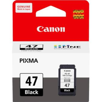 Tinta Printer - Canon PG47 Black - Original Ink