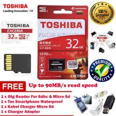 TOSHIBA Micro SD Card + Adapter 32GB Class 10 U3 / Ultra High Speed 3 for